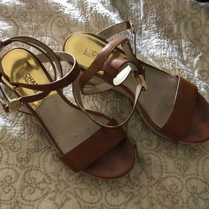 Michael kors espadrille wedge